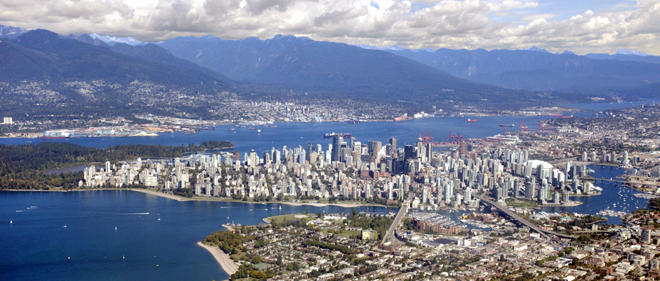 Vancouver aerial photo services Chuck Rebstein